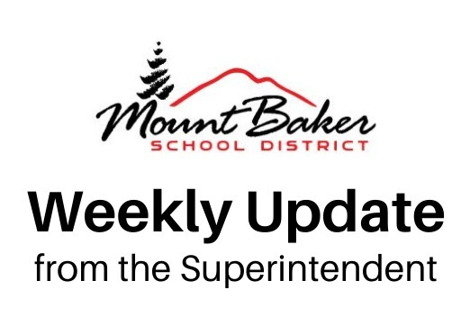 Weekly Update from the Superintendent